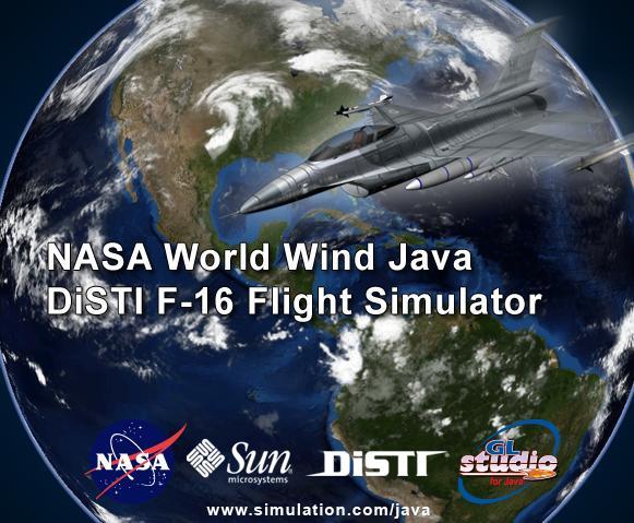 World Wind F-16 Demo live