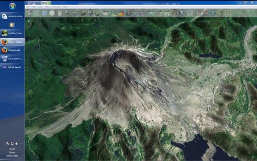 World Wind 1.4 running in Windows 7